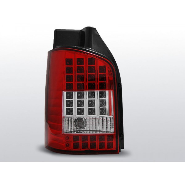 LAMPY VW T5 LED RED WHITE