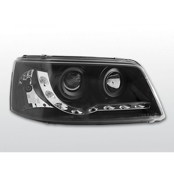REFLEKTORY VW T5 LED BLACK