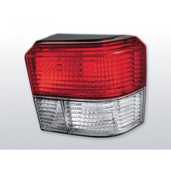 LAMPY VW T4 KRYSTAL RED WHITE