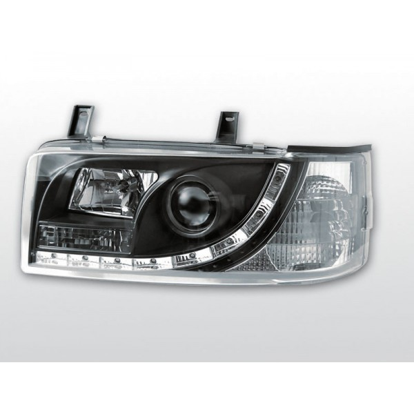 REFLEKTORY VW T4 LED BLACK 90-