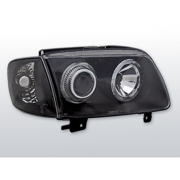 REFLEKTORY VW POLO 6N2 RINGI BLACK