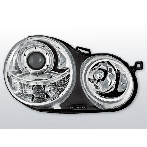 REFLEKTORY VW POLO 9N RING CHROM