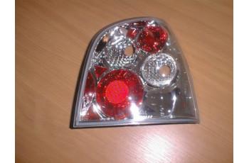 LAMPY VW POLO 9N LEXUS CHROM