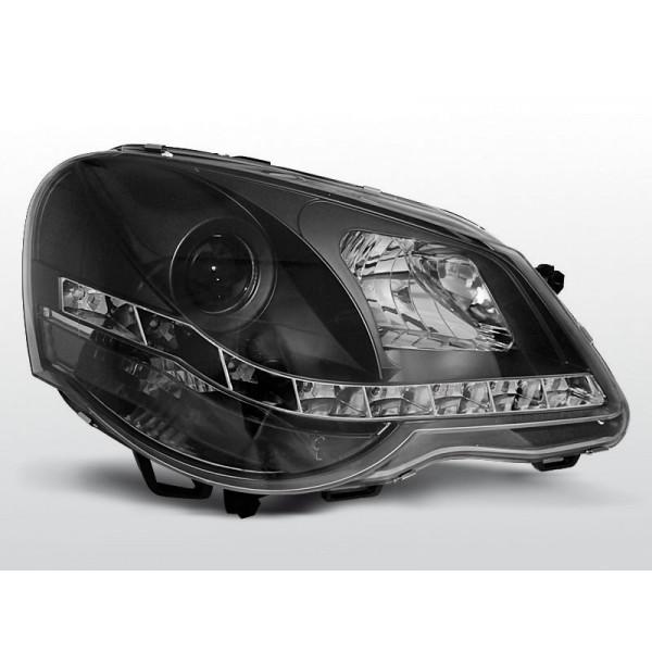 REFLEKTORY VW POLO 9N3 DRL BLACK