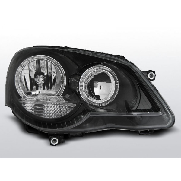 REFLEKTORY VW POLO 9N3 RING BLACK