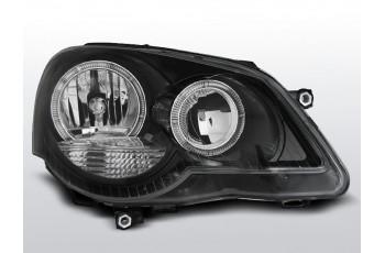 REFLEKTORY VW POLO 9N3 RING BLACK