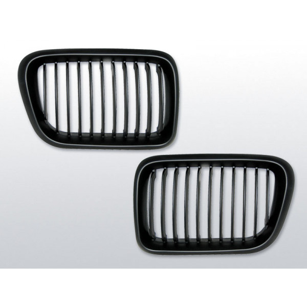 GRILL BMW E36 BLACK do 10.1996