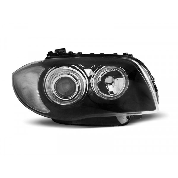 KPL REFLEKTORÓW BMW E87 E81 LED BLACK