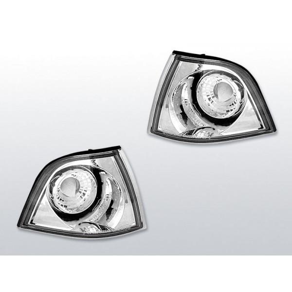 KIERUNKOWSKAZY PRZÓD BMW E36 CLEAR CHROM SDN/CMCT/TRNG