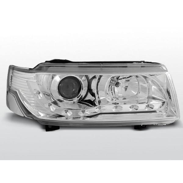 REFLEKTORY VW PASSAT B4 DRL CHROM