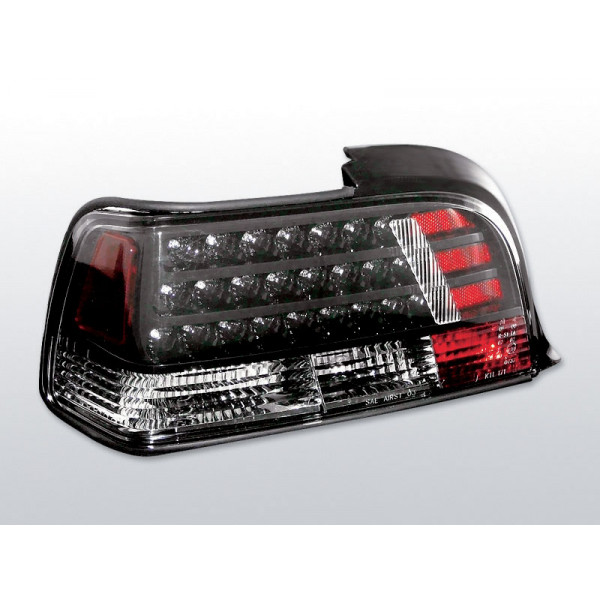 LAMPY BMW E36 LED BLACK COUPE/CABRIO