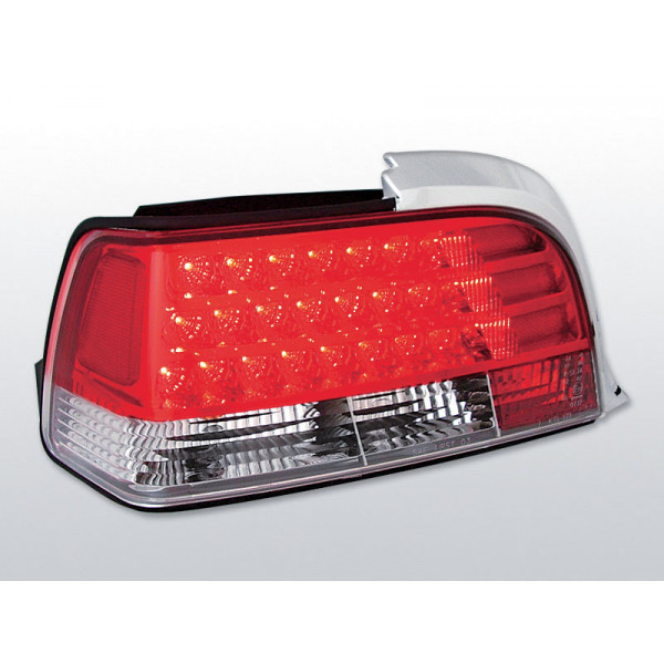 LAMPY BMW E36 LED RED COUPE/CABRIO