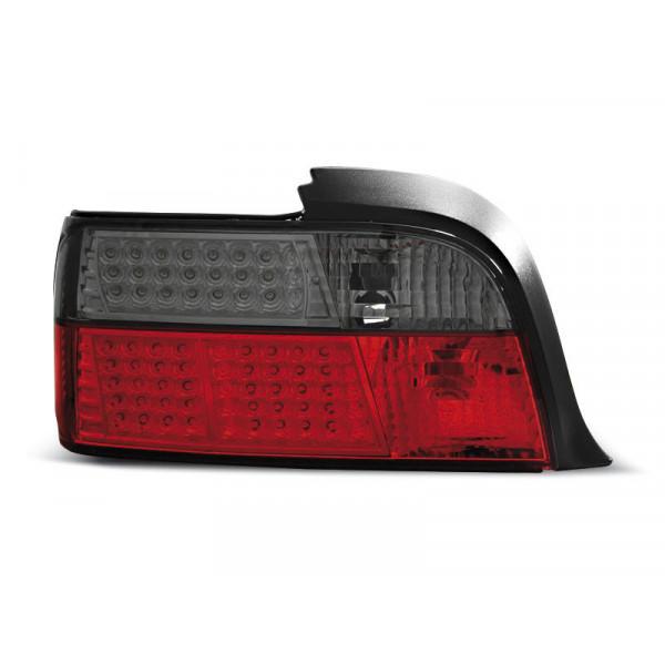 LAMPY BMW E36 LED KRYSTAL LED SMOKE COUPE CABRIO