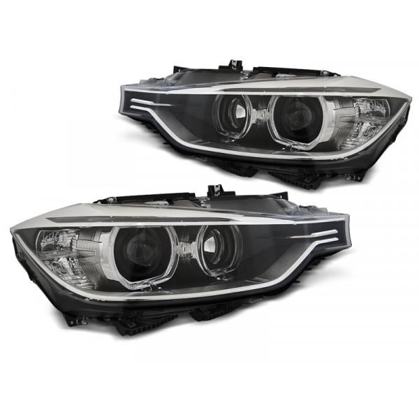 KPL REFLEKTORÓW BMW RING LED BLACK