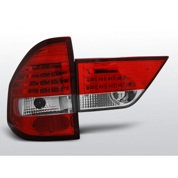 LAMPY BMW X3 E83 LED RED WHITE