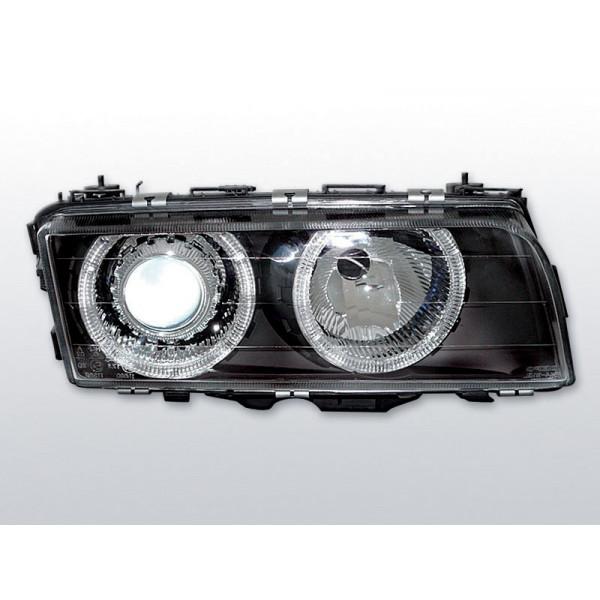 REFLEKTORY BMW E38 RINGI BLACK