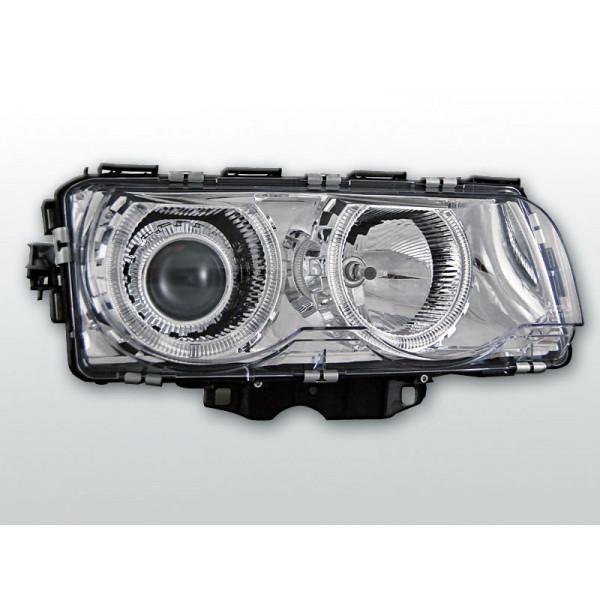 REFLEKTORY BMW E38 RINGI CHROM