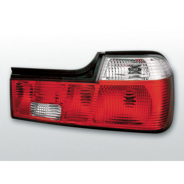 LAMPY BMW E32 CRYSTAL RED WHITE