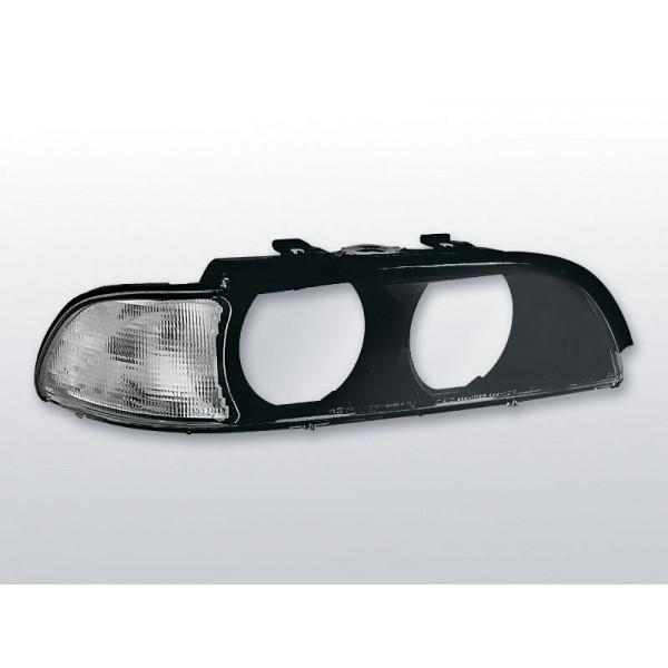 KLOSZE REFLEKTORÓW BMW E39 CLEAR BLACK