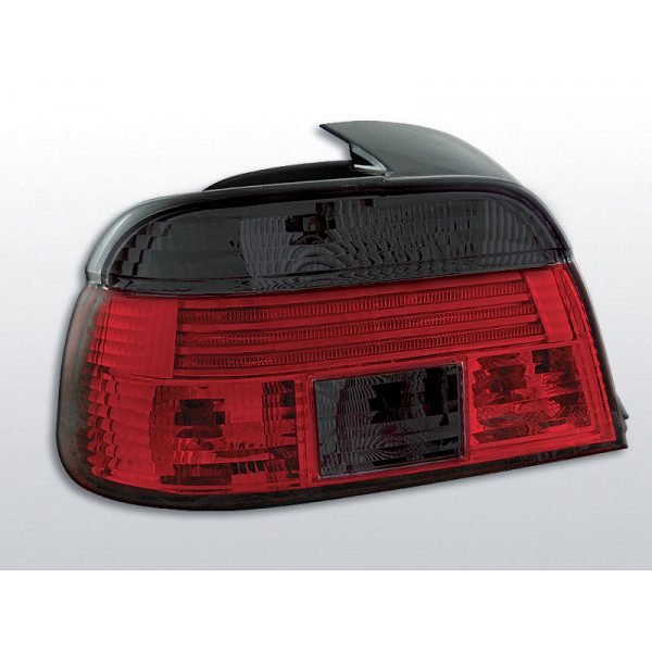 LAMPY BMW E39 CRYSTAL RED SMOKE