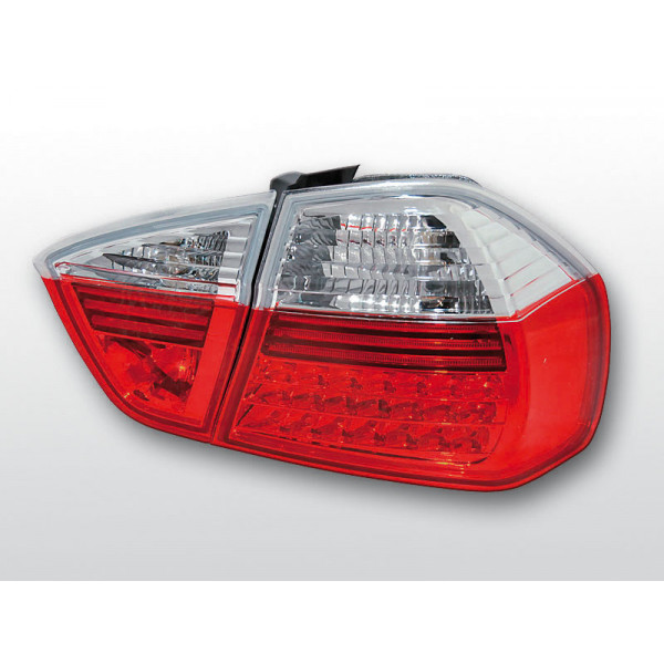 LAMPY BMW E90 LED RED WHITE