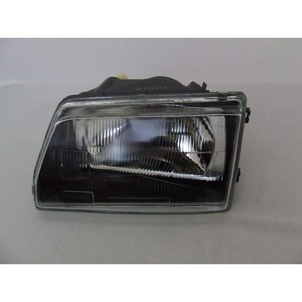REFLEKTOR FIAT CINQUECENTO H4 CZARNY L/P